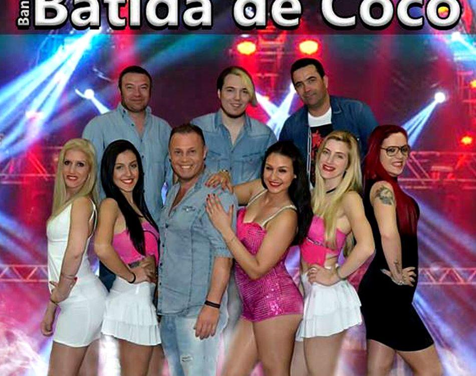 Banda Batida de Coco, contactos, Grupo Batida de Coco, Batida de Coco, bailes, festas, musica popular, bandas do Norte, Grupos de baile
