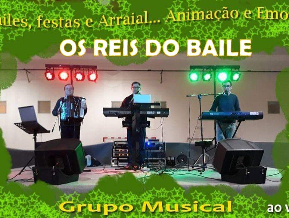 Os Reis do Baile, Grupo de baile, Arraiais, Grupo Musical Mendes Música, grupos musicais, musicos, Alentejo, Evora, Contactos, Grupos Musicais para bailes, Grupo Reis do Baile