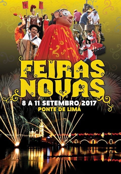 Feiras Novas, 2017, Feiras, Novas, Ponte de Lima, Cartazes, Cartaz, 2017, programa, programas, Artistas, Ranchos, Bandas, contactos