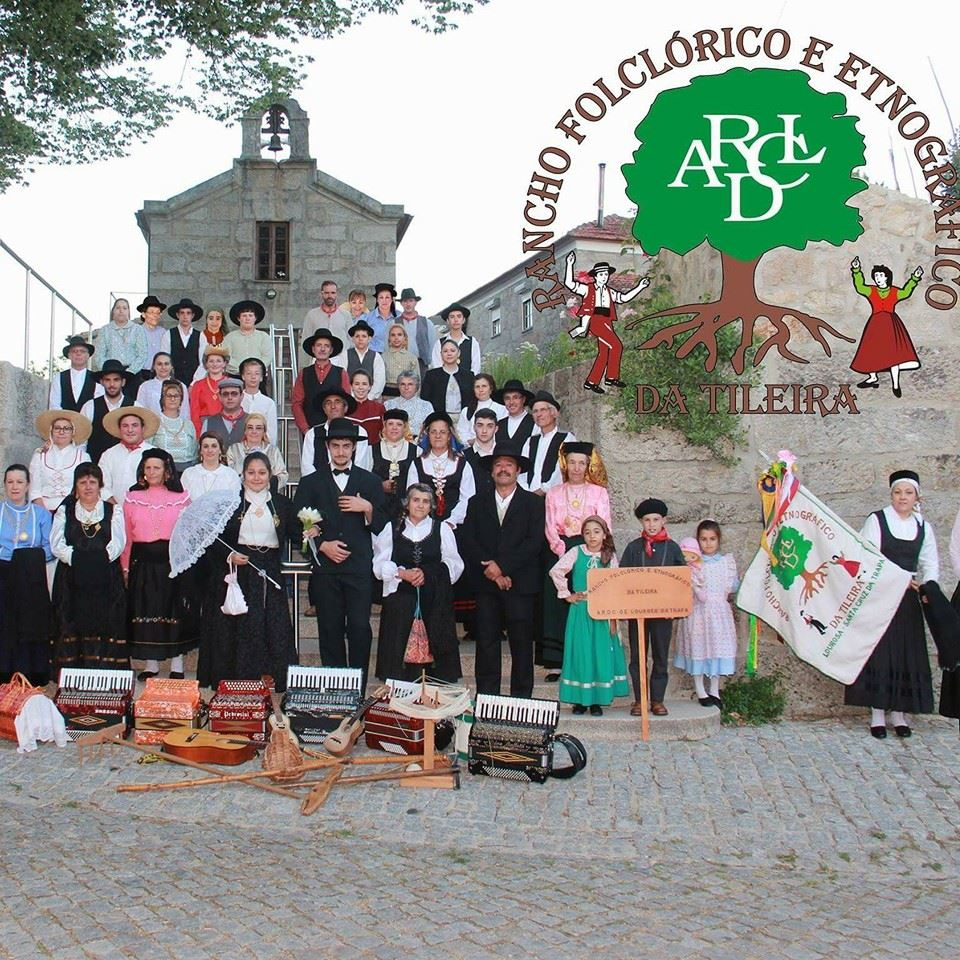 Rancho A Tileira, Ranchos folcloricos, interior, Norte, contactos, Rancho Folclórico e Etnográfico A Tileira, Lourosa, São Pedro do Sul, Viseu