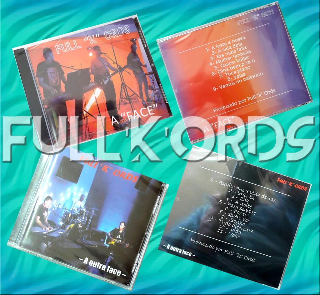 CD's Os Full K Ords, Grupo de Baile, Açoriano, Açorianos, Azores, contacto, contactos de grupos, Musica de festa, Full K Ords, Grupo Musical, Banda, Flores, Açores, contactos, bailes